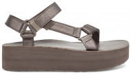 Teva Flatform Universal Leather Women's Metallic Bronze