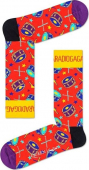 Happy Socks Radio Ga Ga Sock Multi 4300