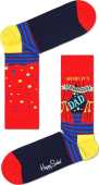 Happy Socks World´s Strongest Dad Sock Multi 4300