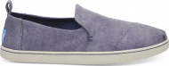 TOMS Washed Twill Women's Deconstructed Alpargata State Blue