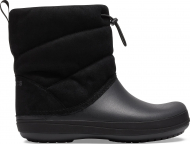 Crocs™ Crocband Puff Boot Women's Black