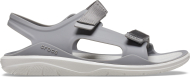 Crocs™ Swiftwater Expedition Molded Womens Smoke/Pearl White