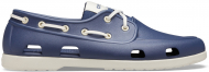 Crocs™ Classic Boat Shoe Mens Navy/Stucco