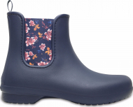Crocs™ Freesail Chelsea Boot Navy/Floral